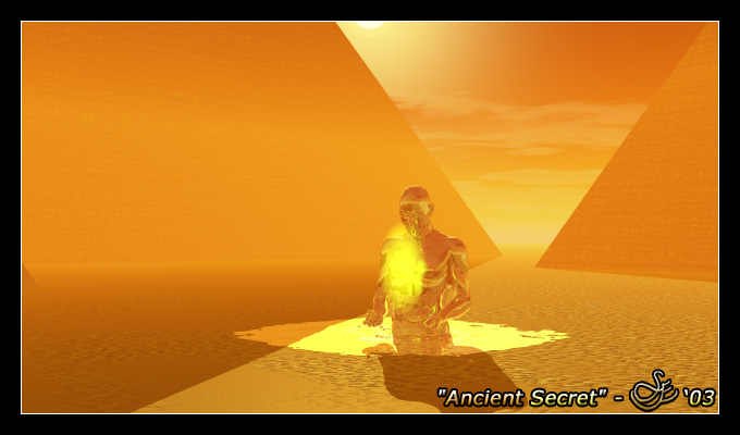 """Ancient Secret"" - Jun. 6, 2003 The power within to create something great out of something so minute as a grain of sand. Channeling energy deep from within the Earth; the transformation begins to happen."