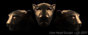 Lion Head Creature Sculpt
