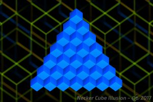 Necker Cube Illusion